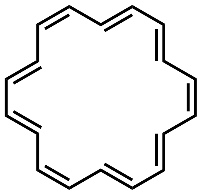 Structure of [18]Annulene