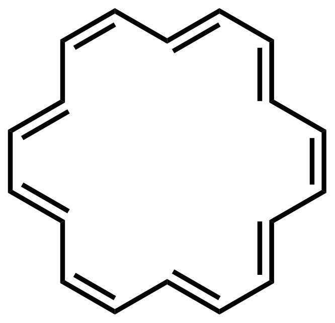 [18]Annulene structure