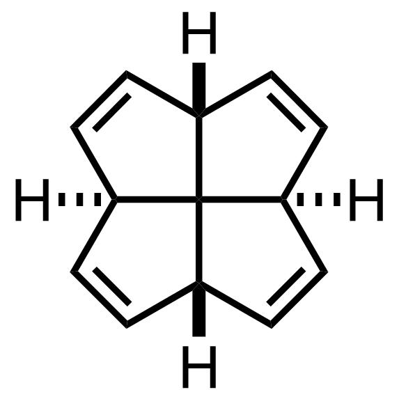 [5.5.5.5]-Fenestratetraene structure