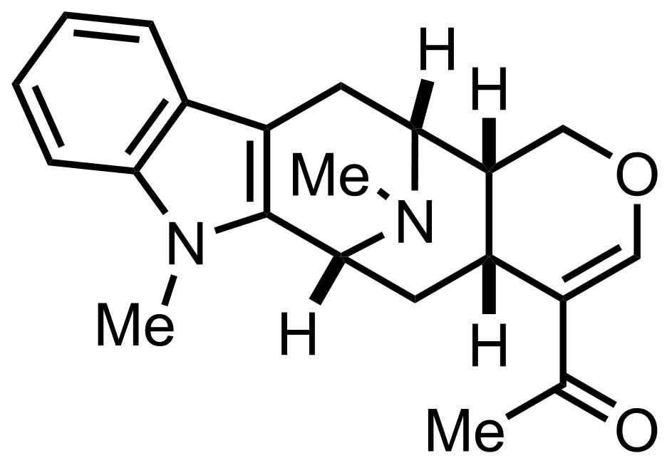 Alstonerine structure