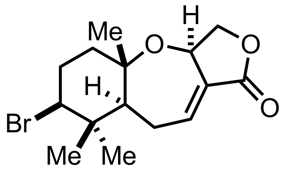 Structure of Aplysistatin