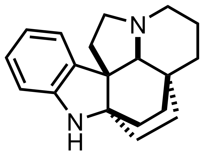 Aspidofractinine structure