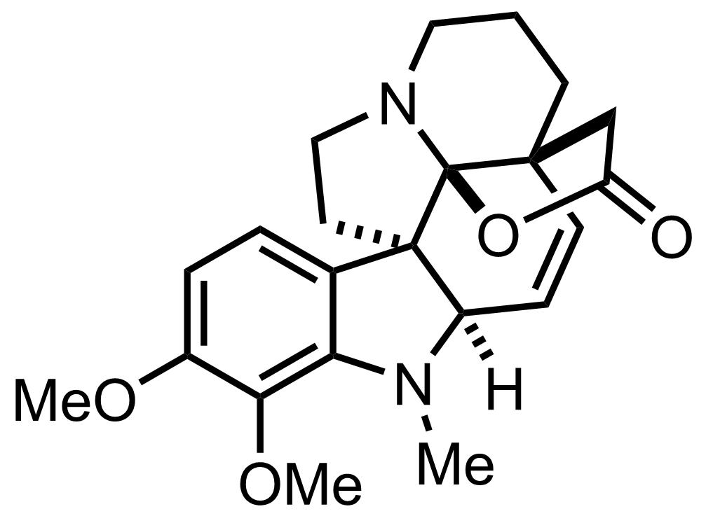 Aspidophytine structure