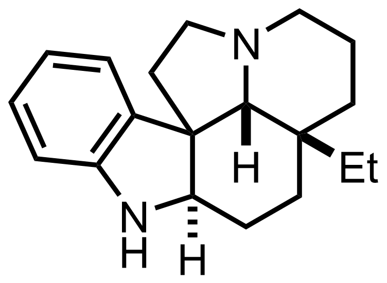 Structure of Aspidospermidine