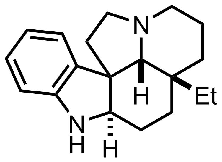 Aspidospermidine structure