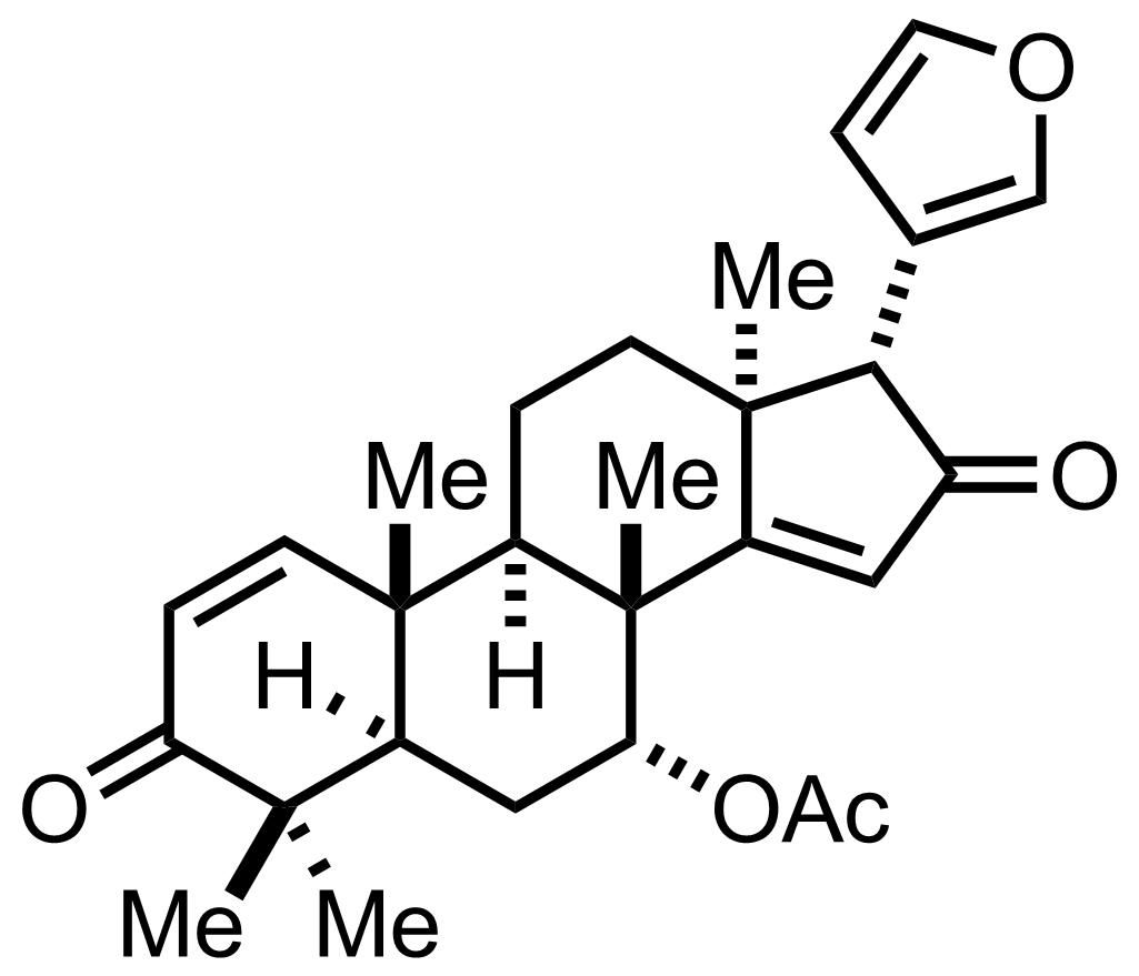Azadiradione structure