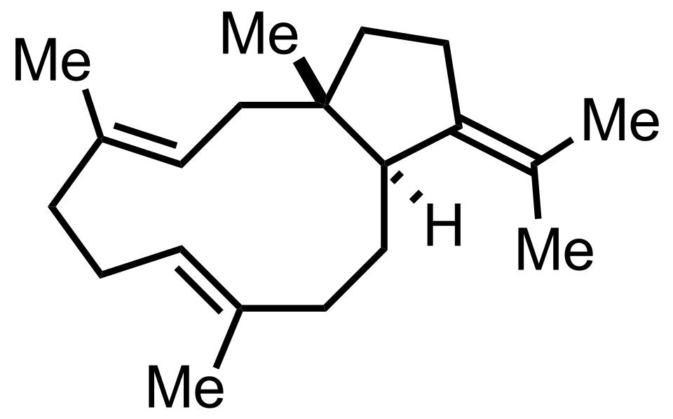 B-Araneosene structure