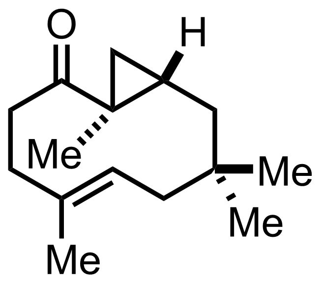 Bicyclohumulenone structure