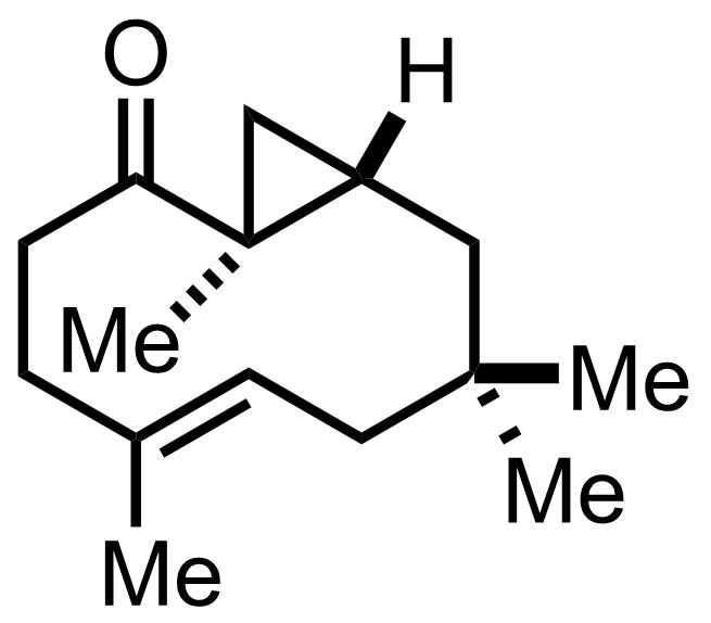 Bicyclohumulenone structure