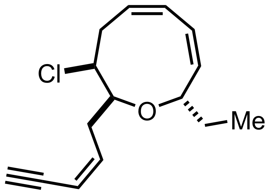 Structure of Brasilenyne