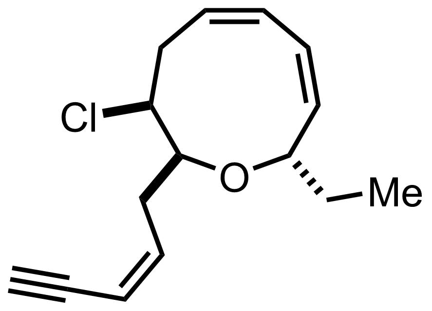 Brasilenyne structure
