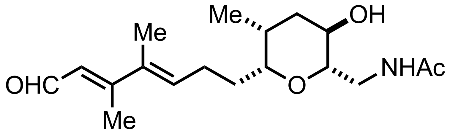 Brevisamide structure