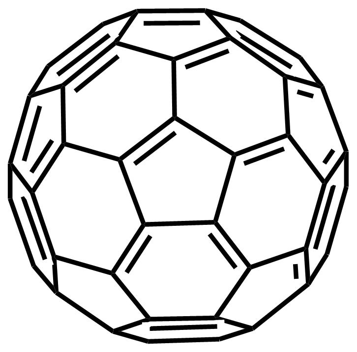 Buckminsterfullerene structure