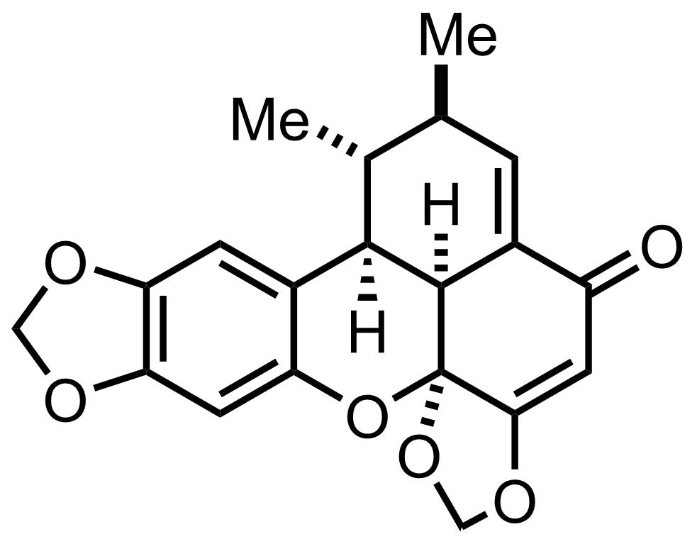 Structure of Carpanone