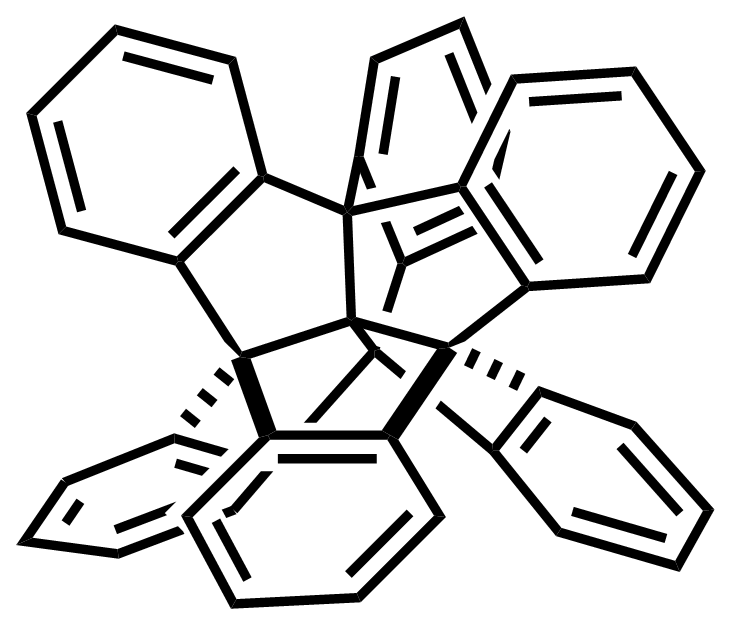 Structure of Centrohexaindane