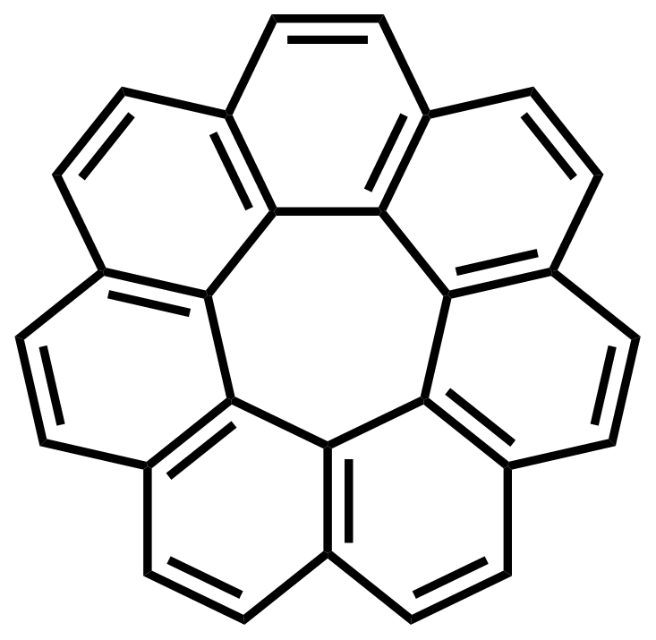 Circulene structure