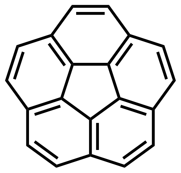 Structure of Corannulene