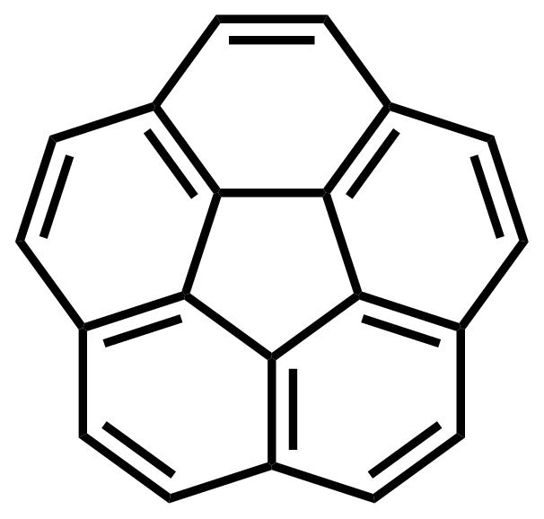 Corannulene structure