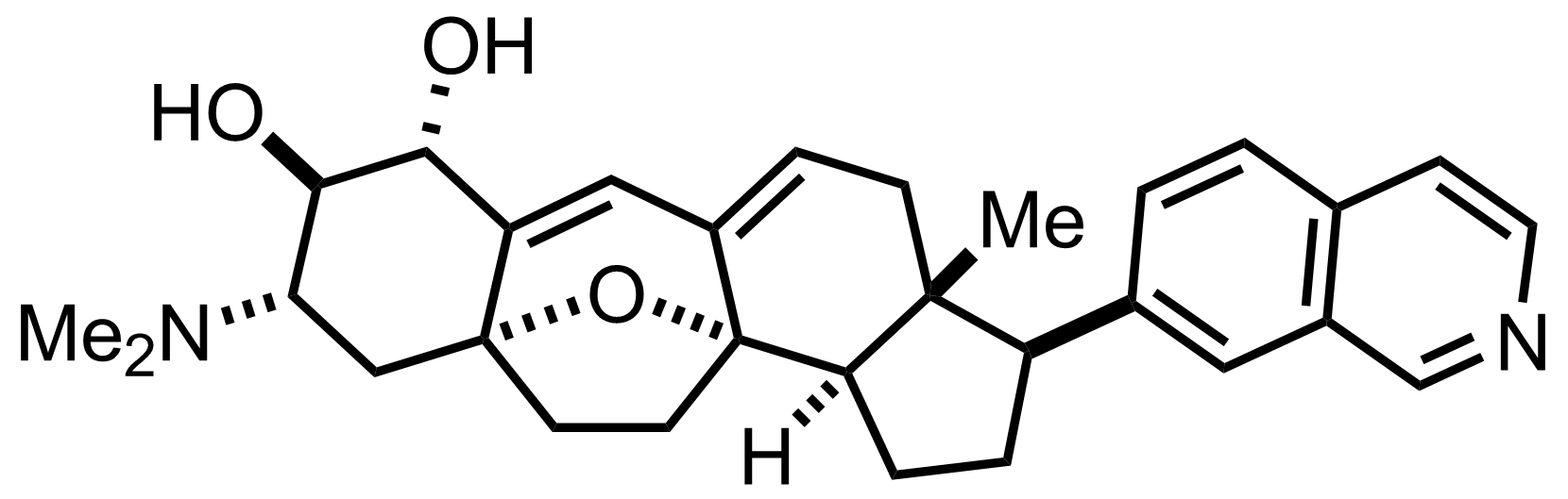 Cortistatin A structure