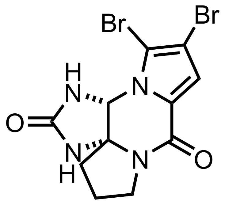 Structure of Dibromophakellstatin