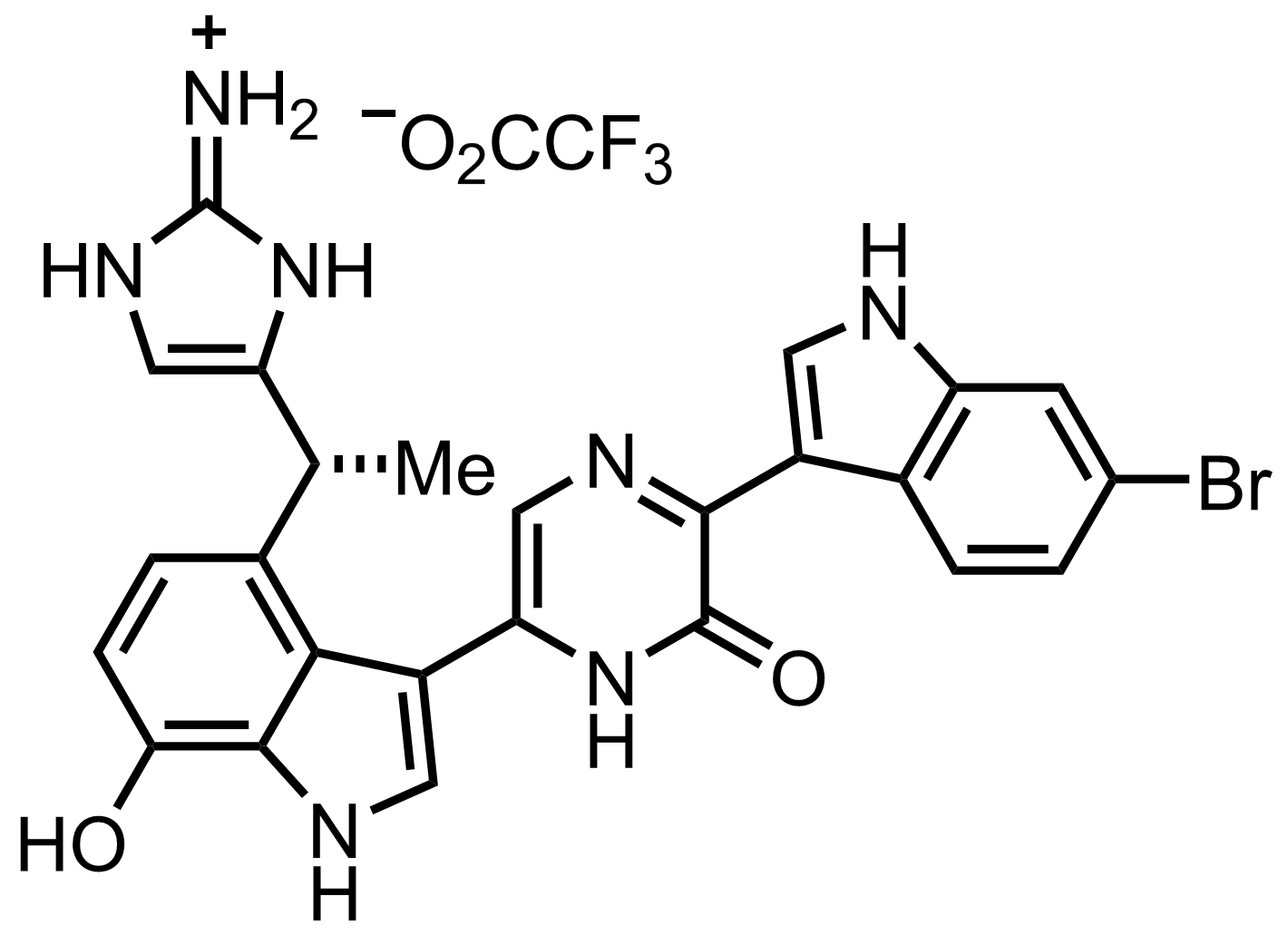 Structure of Dragmacidin D