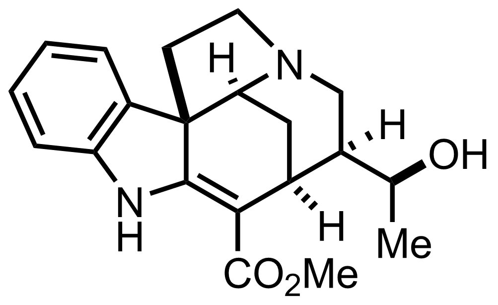Echitamidine structure
