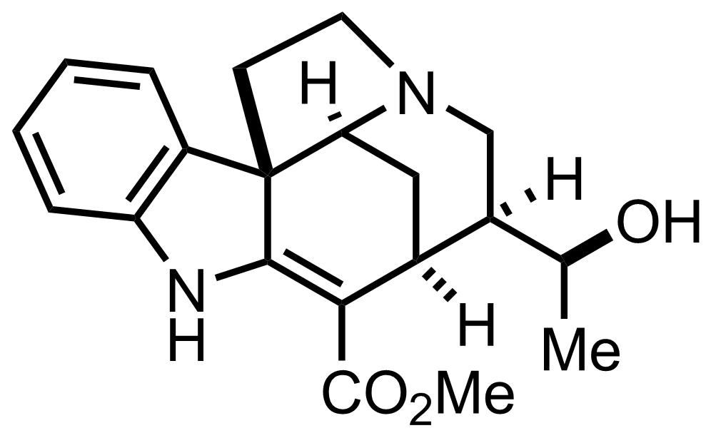 Echitamidine structure