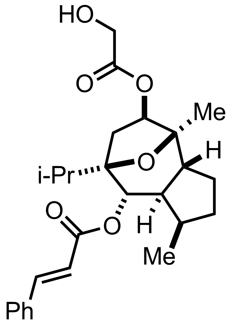 Englerin A structure