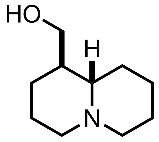 Structure of Epilupinine