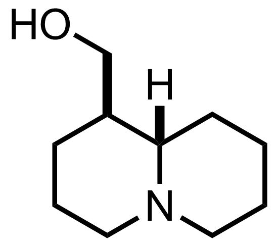 Epilupinine structure