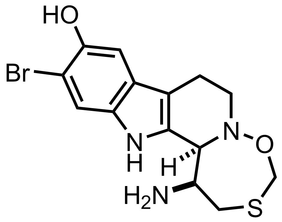 Eudistomin C structure