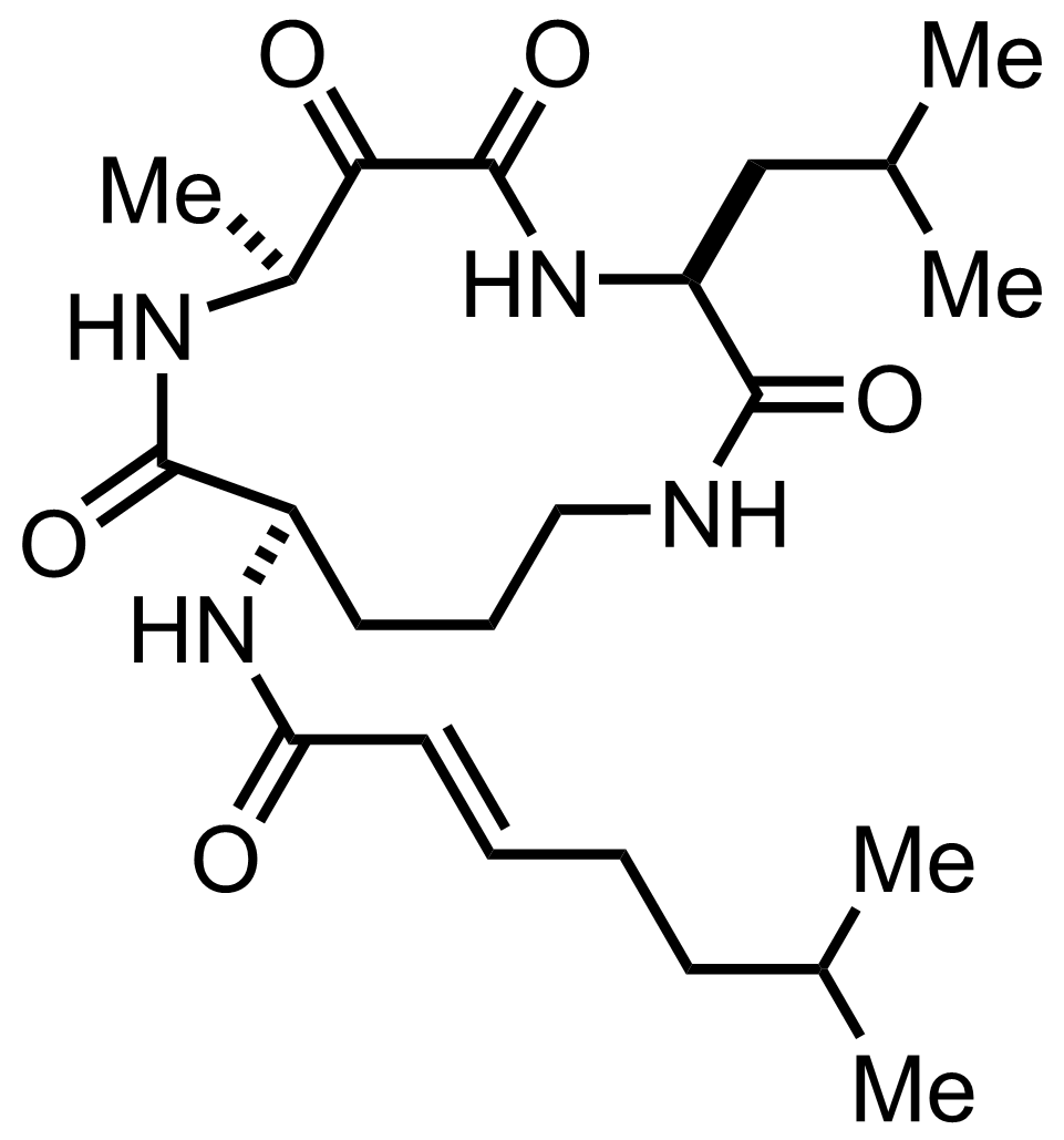 Structure of Eurystatin A