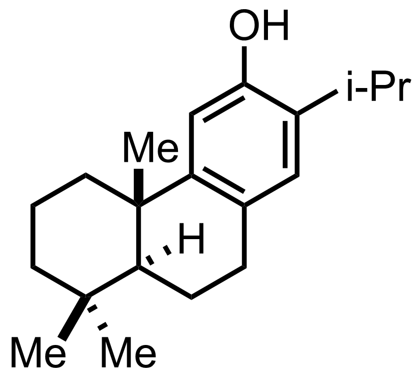 Structure of Ferruginol