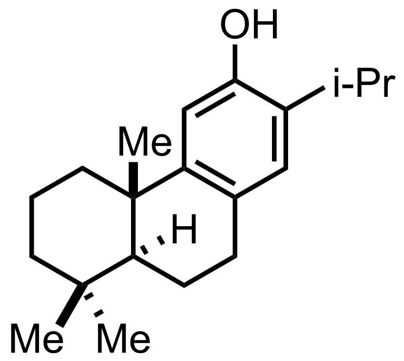 Structure of Ferruginol