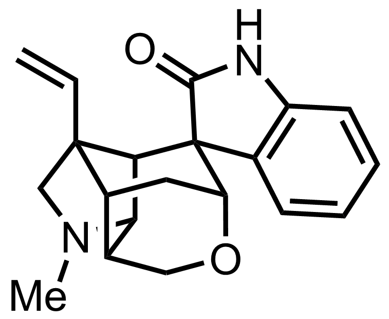 Structure of Gelsemine