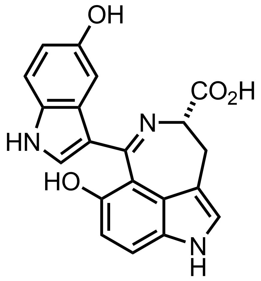 Hyrtiazepine structure