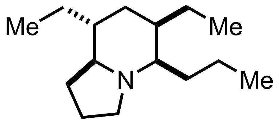 Indolizidine 223A structure