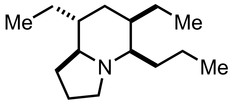 Structure of Indolizidine 223A
