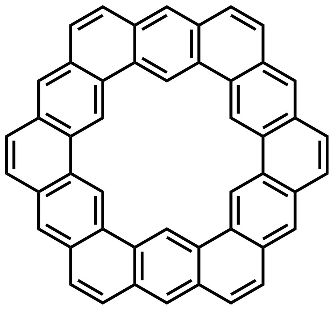 Kekulene structure