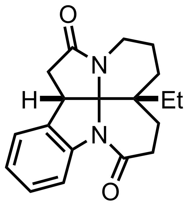 Leuconoxine structure