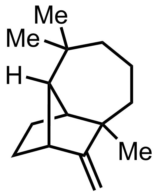 Longifolene structure