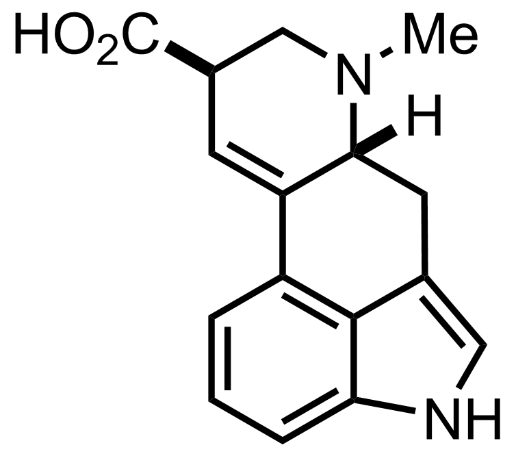 Structure of Lysergic Acid