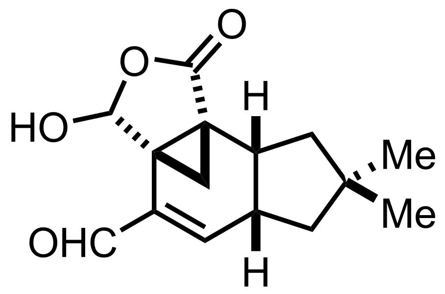 Marasmic Acid structure