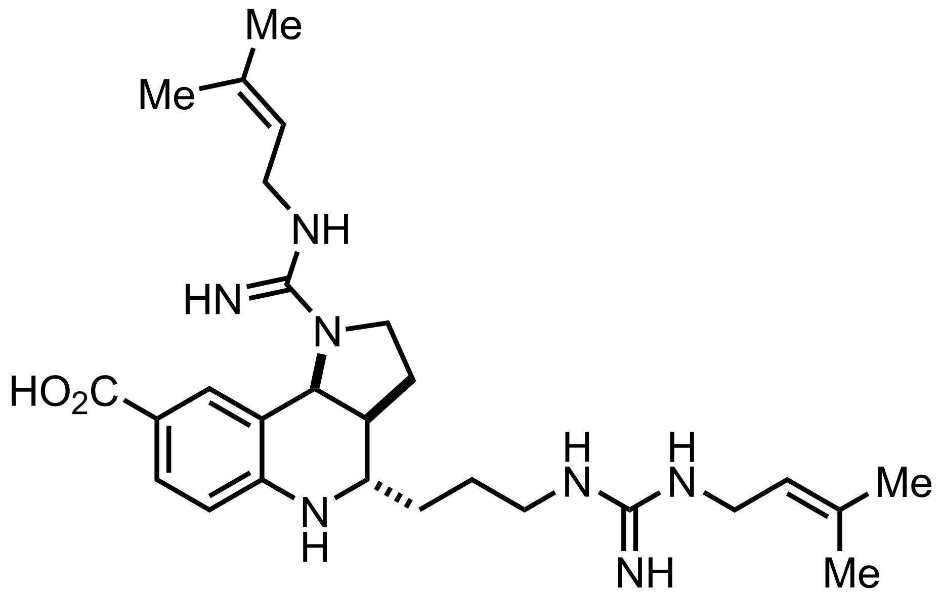 Martinellic Acid structure