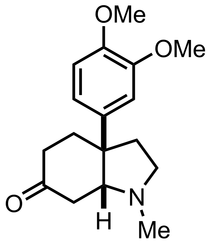Structure of Mesembrine