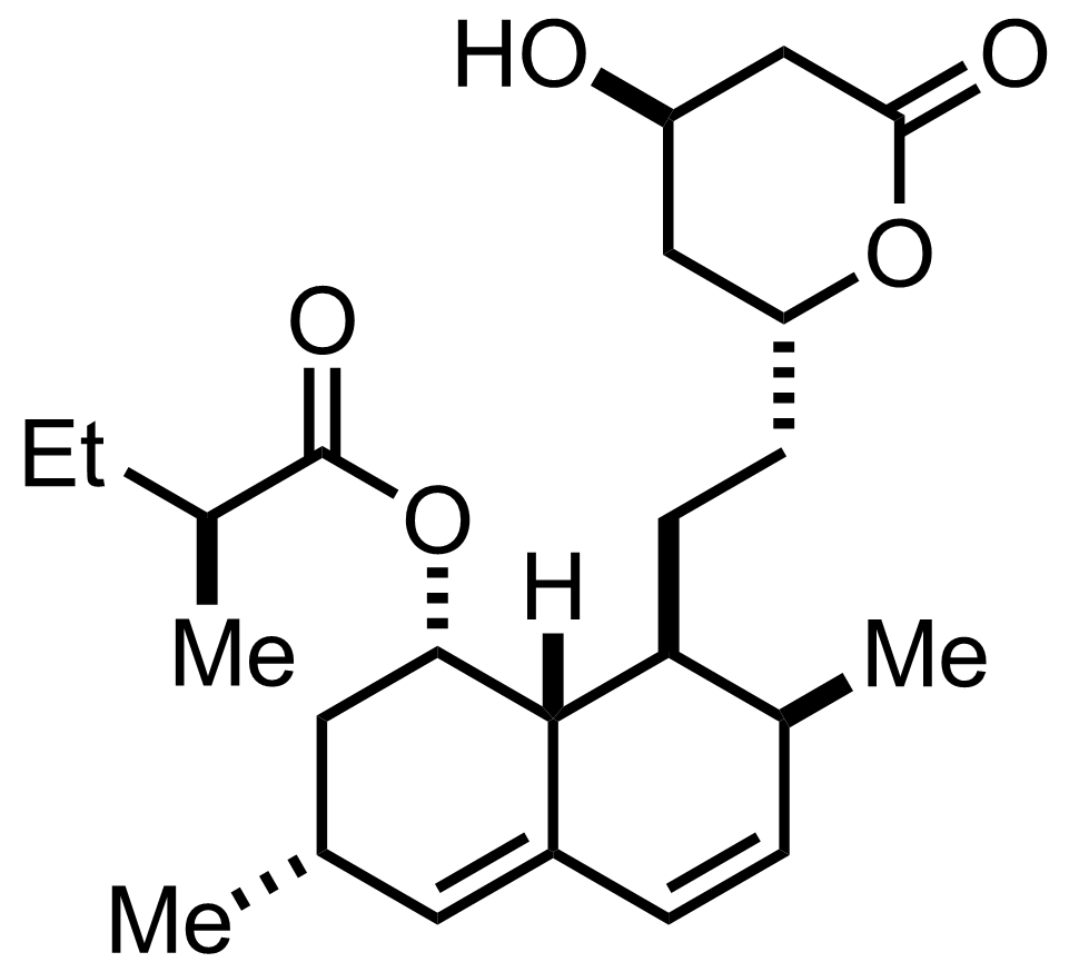 Mevinolin structure