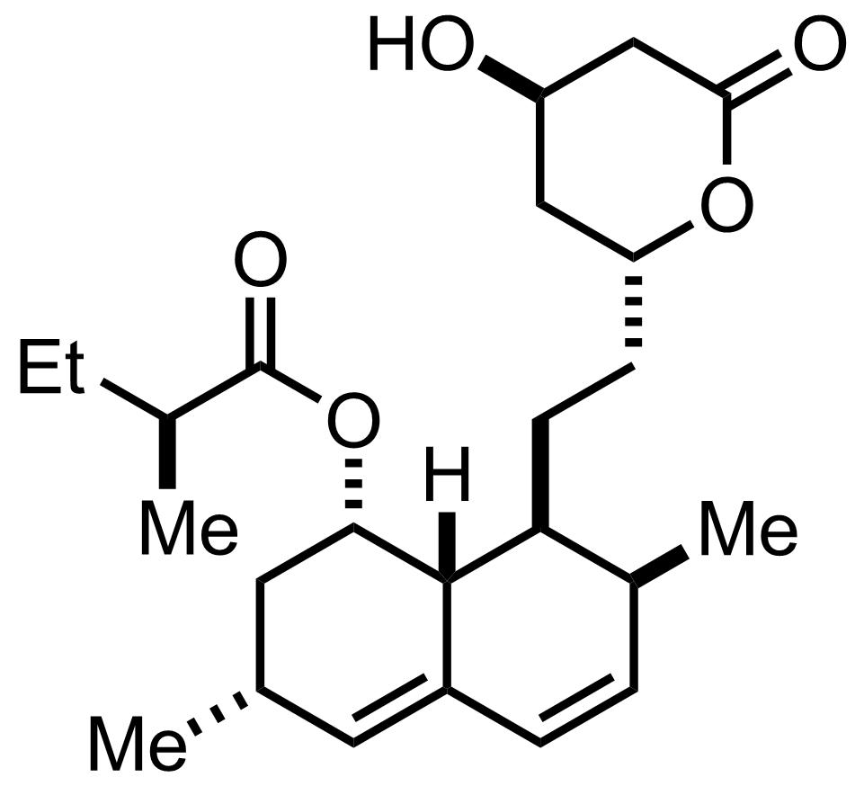 Mevinolin structure