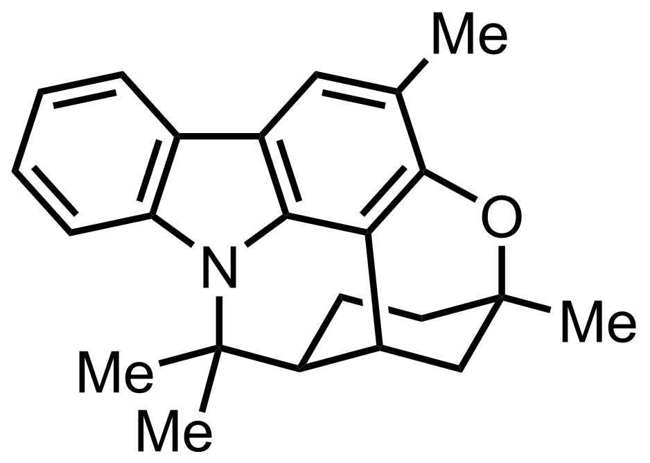 Structure of Murrayazoline