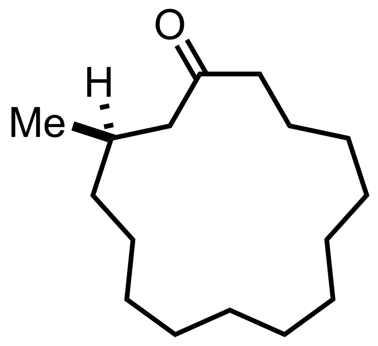 Structure of Muscone