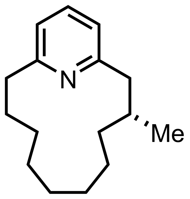 Structure of Muscopyridine